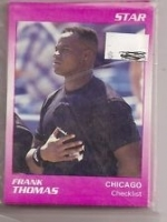 Frank Thomas Star Set (Purple) (Chicago White Sox)